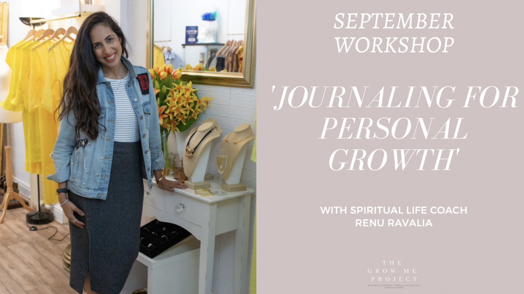 Journaling for personal growth workshop